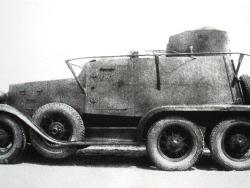 Легкий бронеавтомобиль ГАЗ-ТК.