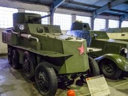 Легкий бронеавтомобиль БА-21.