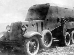 Санитарно-транспортный бронеавтомобиль БА-22.