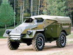 Бронетранспортер БТР-40.