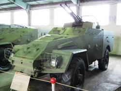 Бронетранспортер БТР-40А ЗТПУ-2).