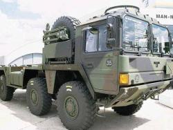 Автомобиль MAN SX2000