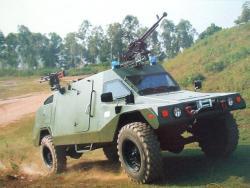 Высокомобильный бронированный автомобиль P.V.P.