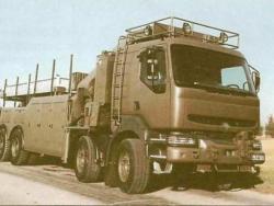 Тяжелый тактический автомобиль KERAX Туре 400.32.