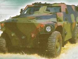Бронированный автомобиль AMV