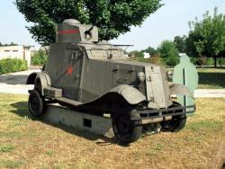 Легкий бронированный автомобиль ФАИ - М.