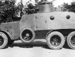 Бронированный автомобиль «Д-13».