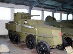 плавающий бронеавтомобиль «ПБ-4»