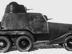 Легкий бронеавтомобиль ЛБ-23.
