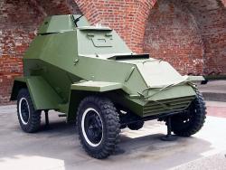 Легкий бронеавтомобиль БА-64.